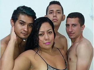 Nyicole & Anderson & Mateo Rivas & Ben