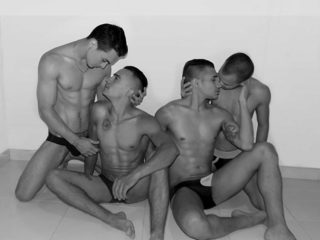 Valentin & Derek & Aron & Brandon