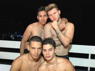 Cali & Dani & Dylan & Facundo