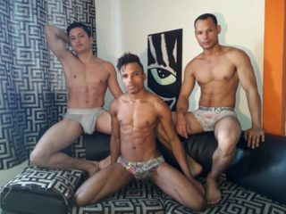 Aaron & Junior & Jhon
