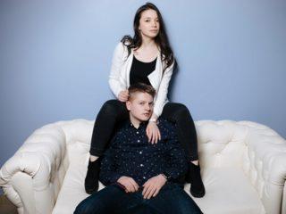 Adelia Lust & Sasha Grom