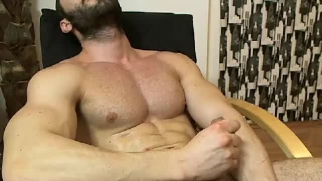Jerking Posing and Cum