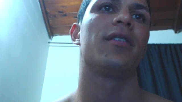 Latino Model, Giorgio Plays with His Dick