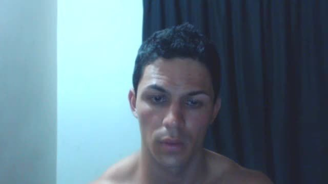 Hot Muscle Guy Jerks Off and Cums