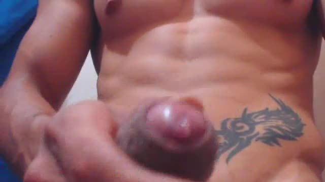 Sexy Stud Jerking His Cock