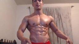 Latino Model Giorgio Plays with His Dick
