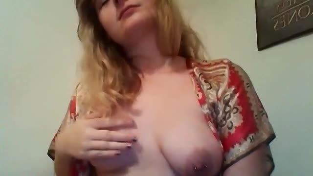 Older Girl with Pierced Nipples