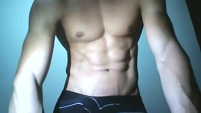 Sebastian Hawk Webcam Shows Off Muscles