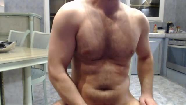 European Model, Cole Plays with His Dick