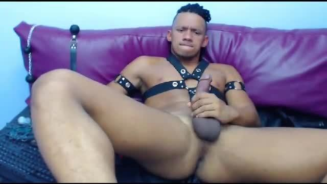 Martinn Plays with Some Huge Anal Toys
