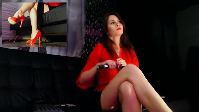 Group Chat: Mistress Helena Red Heels