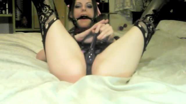 Depraved Devyn Gagged and Tied :)