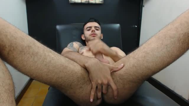 European Model Jessid Plays with His Dick