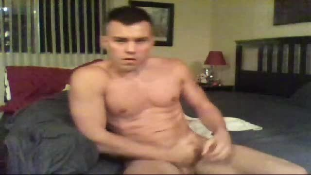 Josh Camden Jerking Off and Moans