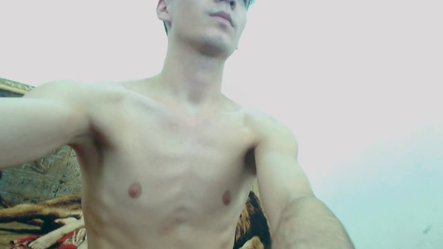 Party Chat: Twink with Very Big Cock, Jerkin It Off
