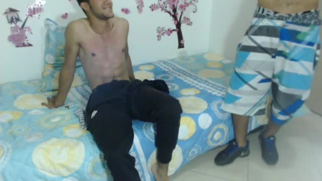 Latin College Guy is Whipped by Friend