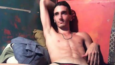 Slim, Fit, Damon Star, G-string Tease Webcam Show