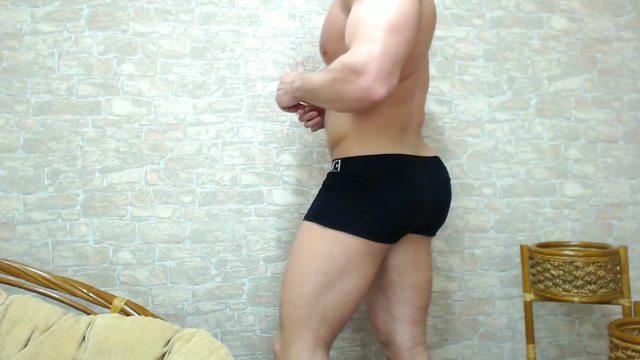 Nikolas Dressing Down to His Underwear