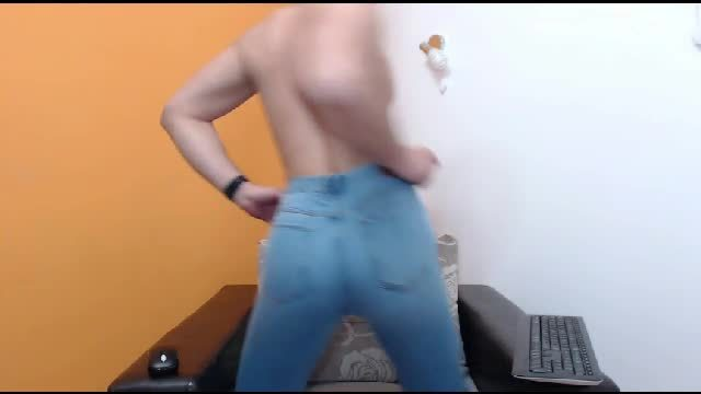 Handsome Danny Webcam Showing Off His Ass in Jeans