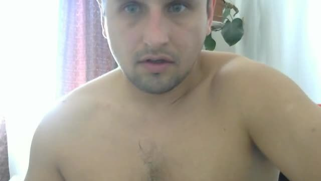 Chubby European Tommie Plays with His Dick