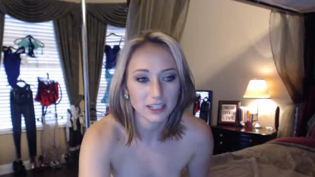 Another Gushy After School Strip Tease with Christina - Private Webcam Show