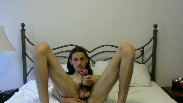 American Twink Luke Plays with Vibrator