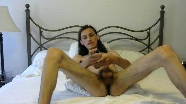 Twink Model, Luke Plays with His Dick