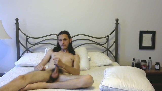 Massive Long Dick.  Hairy Pubes