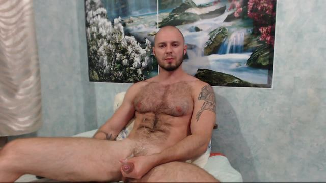 European Model Earl Plays with His Dick