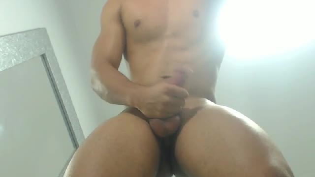 Hot Terry Flirting and Jerking Perfect Cock