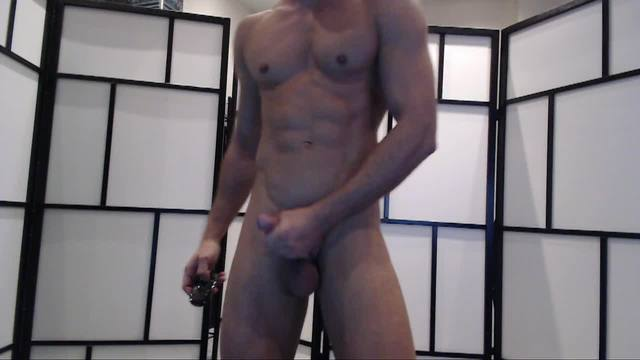 Andre Stroking His Cock