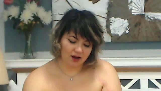 Aimee Fucks Her Titties with Dildo