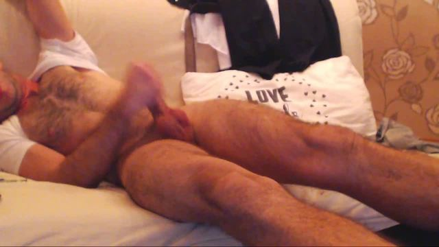 Tom Specter Strokes His Cock