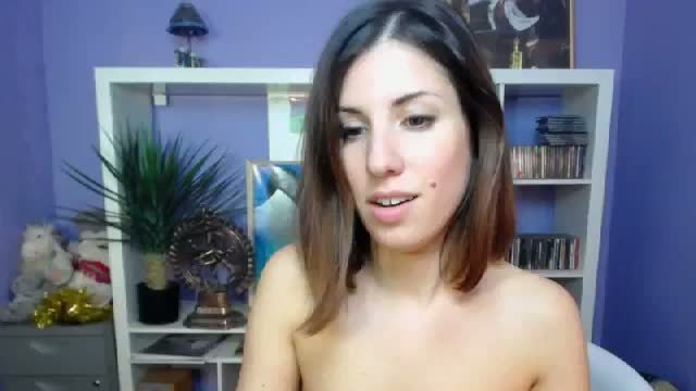 Katy_mandarina Pleasure Her Pussy with Her Big Dildo