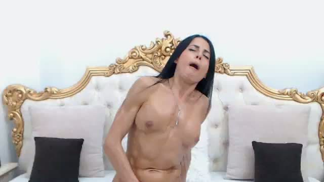 Sandra Blake Beige Dildo Ride, Boobs, Oil