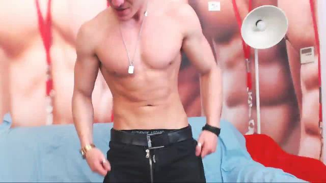 Alex Treet Webcam Showing Upper Body