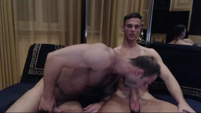 Group Chat: Denton Baxter and Justin Lewis Suck and Jerk Each Other Off