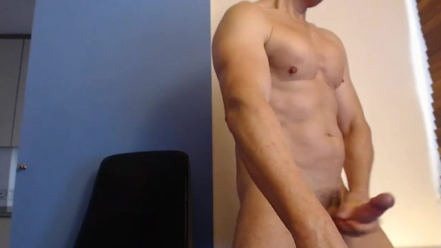 Horny Jerking Off and Cum Twice