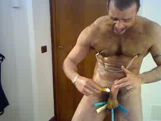 BDSM Session: Abused Slave Slut