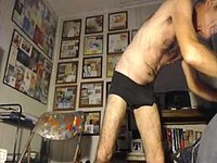 Frank Webcam Showes Off Balls and Body in Underwear