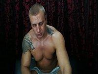Samson Intense Jerk and Cum Webcam Show
