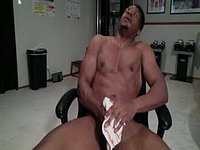 American Model Plays with His Dick.
