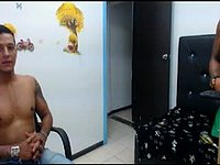 Latino Benjamin and Friends Webcam Show Off in Underwear