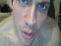 American Model Jerks His Dick