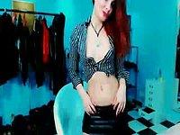 Hot Redhead Pandora Femdom Teasing