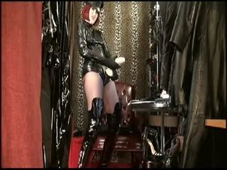 Cock Abuse by Shiny Mistress