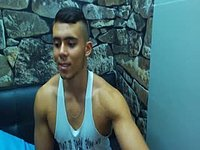 Latino Male, Adrian Plays with His Dick