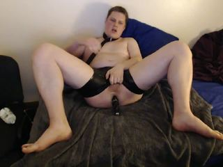 Shiny James Showing Off and Play with Dildo in Ass