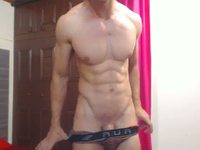 Latino Male Jhonny Plays with His Dick