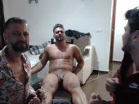 Luciano Rey & Gordon Slim & Carl Crossley Private Webcam Show